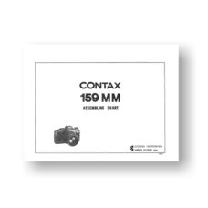 Contax 159MM Parts List Download