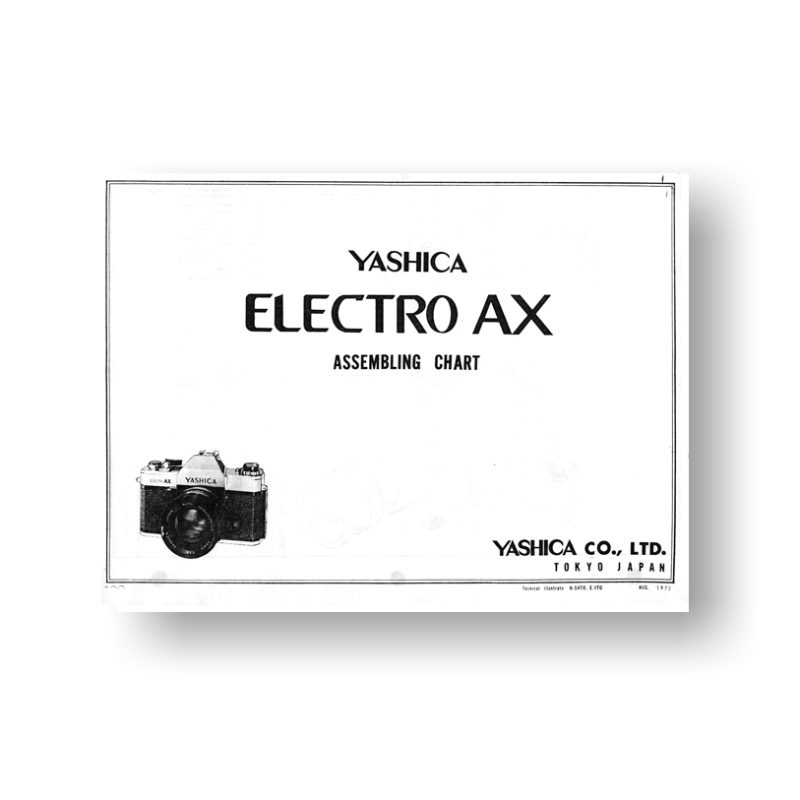 Yashica Electro AX Parts List Download | Yashica Film Camera