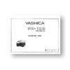 Yashica FX-103P Parts List | Yashica Film Cameras
