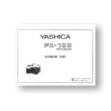Yashica FX-103P Parts List | Yashica Film Cameras