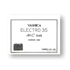 Yashica MC Parts List