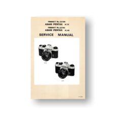 Pentax Service Manual 23700 | Pentax Film Cameras | Pentax KX KM Service