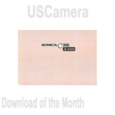 USCamera Free Monthly Download | Konica C35 Auto