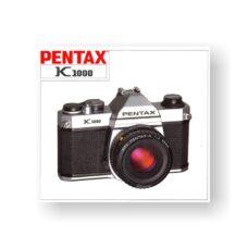 Pentax K1000 Owners Manual