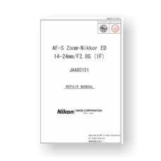 Nikon 80151 Repair Manual