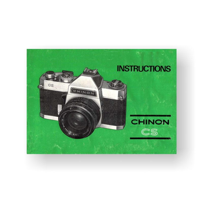 Chinon CS Instruction Manual | 35mm Film Cameras