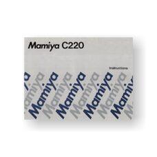 Mamiya C220 Instruction Manual | Film Cameras