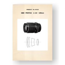 Pentax 45122 Parts List | SMC-Takumar 120 2.8 Lens