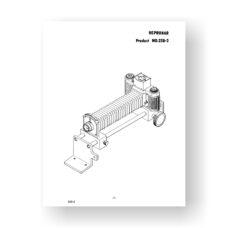 Pentax 228-2-Repronar Part List