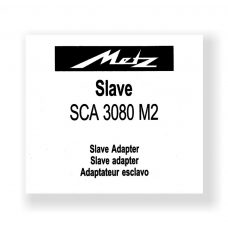 Metz SCA3080 Owners Manual Slave Adapter