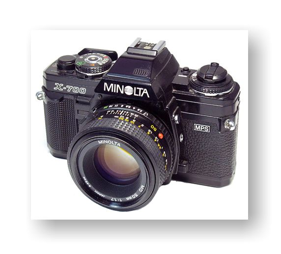 Minolta X-700 Technical Problems