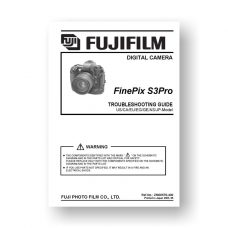 Fuji S3-PRO Repair Manual Parts List | Digital SLR