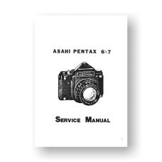 Pentax 23400 Service Manual Parts List