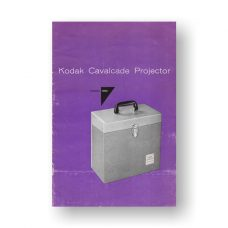 Kodak Cavalcade-500 Owners Guide