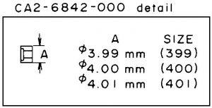 Canon CA2-6842 Collar | EF 100-400 4.5-5.6L IS USM
