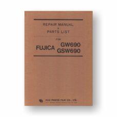 Fuji GW690-GSW690 Repair Manual Parts List