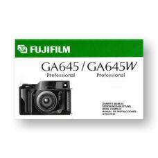 Fuji GA645-GA645W Owner's Manual