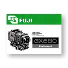 Fuji GX680 Owner's Manual