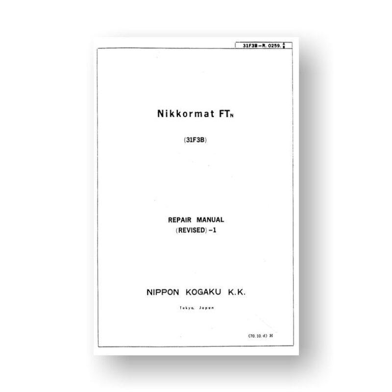 Nikon Nikkormat-FTn Repair Manual