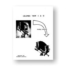 Graphic View 1-2 Service Manual Parts List | 4X5 Film Camera