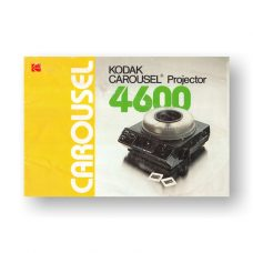 Kodak Carousel 4600 Owners Manual PDF Download