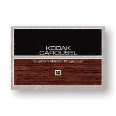 Kodak Carousel Custom 860H Owners Manual PDF