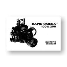 Rapid-Omega 100 200 Owner's Manual