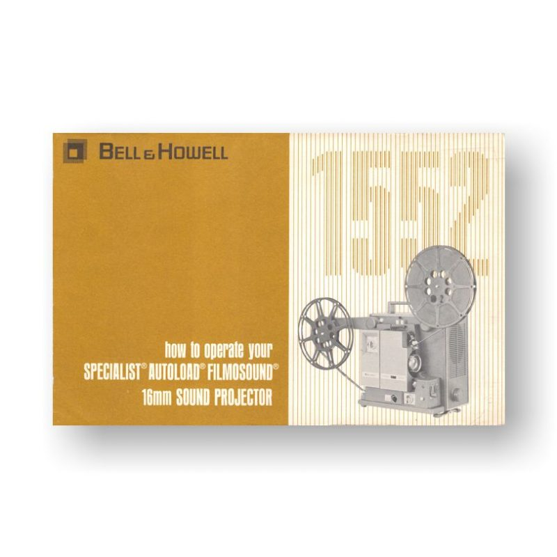Bell & Howell Autoload 1552 Owners Manual
