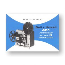 Bell & Howell Autoload 481 Owner's Manual | Super 8mm