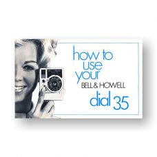 Bell & Howell Dial 35 Owner's Manual