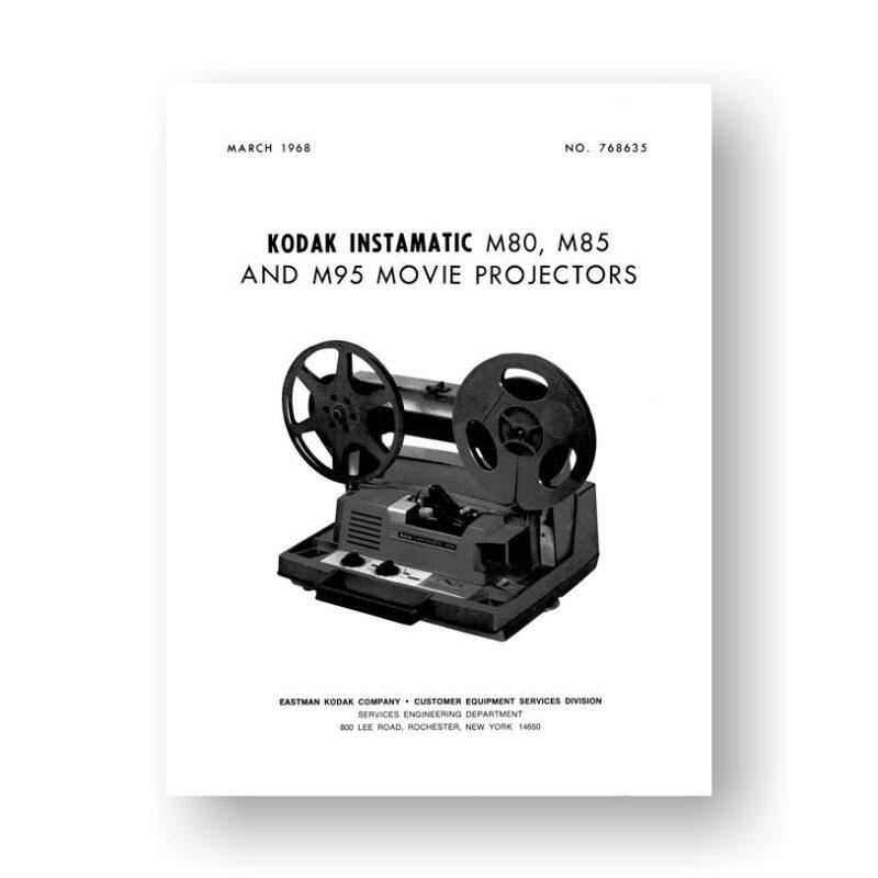 Kodak M80-M85-M95 Service Manual