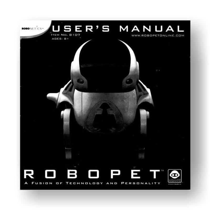 ROBOPET 8107 User's Manual