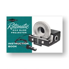 Sawyers Rotomatic Owners Manual