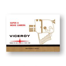 Viceroy CRS IV Owners Manual | Super 8 Movie Camera