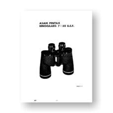 Asahi Pentax 7X50 B.C.F. Parts List