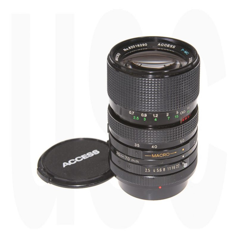 Access 35-70 2.5-3.5 Macro Zoom for Canon FD
